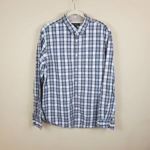 4/$25 BR Soft Washed Tailored Slim Fit Shirt L